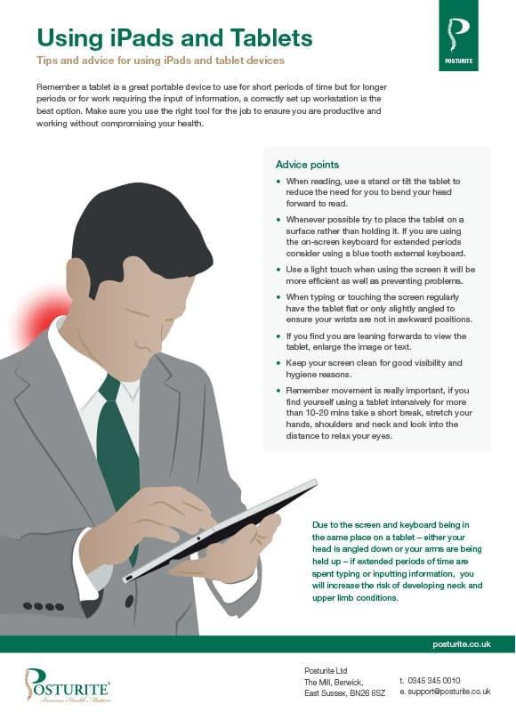 Tablet ergonomics